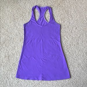 Lululemon Cool Racerback Size 6 Purple
